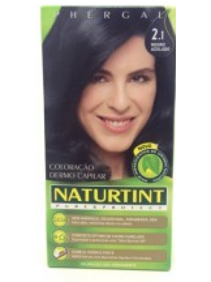 Colorante Natural do Cabelo 2.1 - Negro Azulado