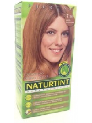 Colorante Natural do Cabelo 7.34 - Avelã Luminoso