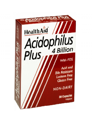 Acidophilus Plus 4 Billion - 30 Cápsulas