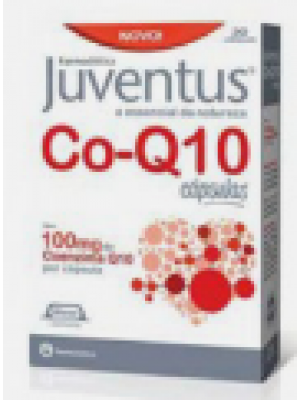 Juventus co-q10 100mg - 30 Cápsulas