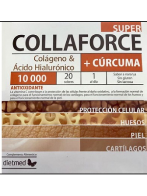 Collaforce Super + Curcuma - 20 saquetas
