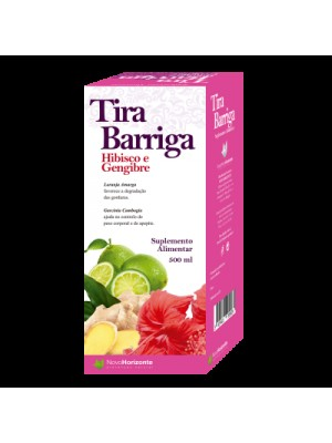 Tira Barriga - Hibisco + Gengibre - 500ML
