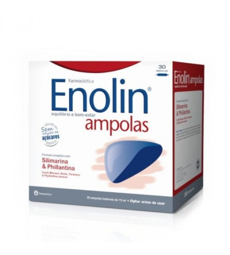 Enolin - 30 ampolas - LEVE 3 PAGUE 2