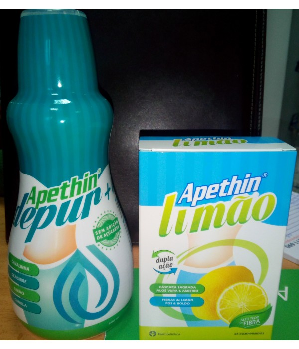 Apethin Depur+ ( Oferta Apethin Limão + 20% Desc)