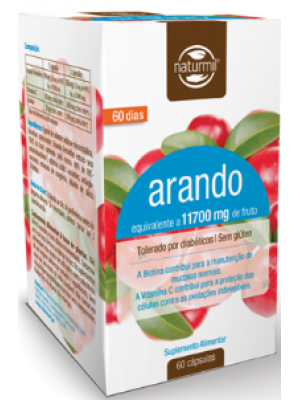 Arando 90 mg - 60 Cápsulas - Naturmil