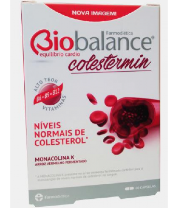 Biobalance Colestermin - 60 cápsulas