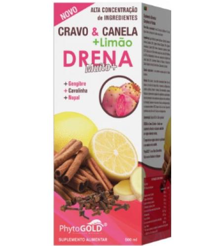 Cravo & Canela + Limão Drena Muito+