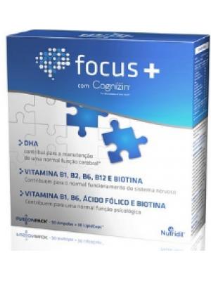 Focus+ 30 ampolas + 30 LipidCaps