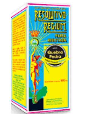 Resolutivo Regium C/ Quebra Pedra 600ML